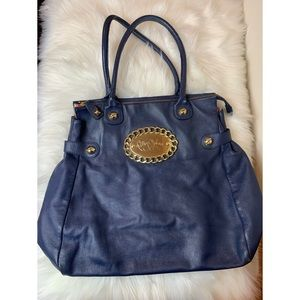 Betsey Johnson large blue purse